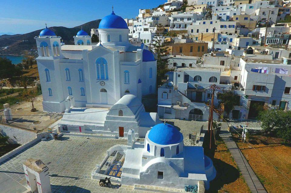 Churches of Ios Island