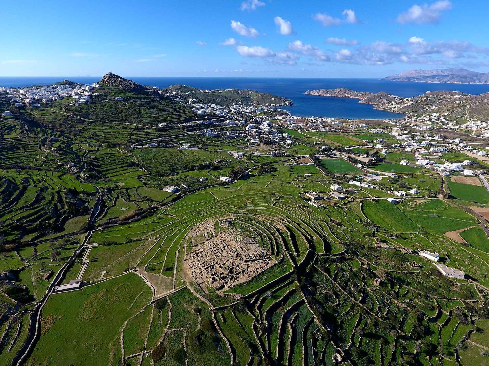 Skarkos, The Prehistoric Settlement - LuxurIOS - Ios Island