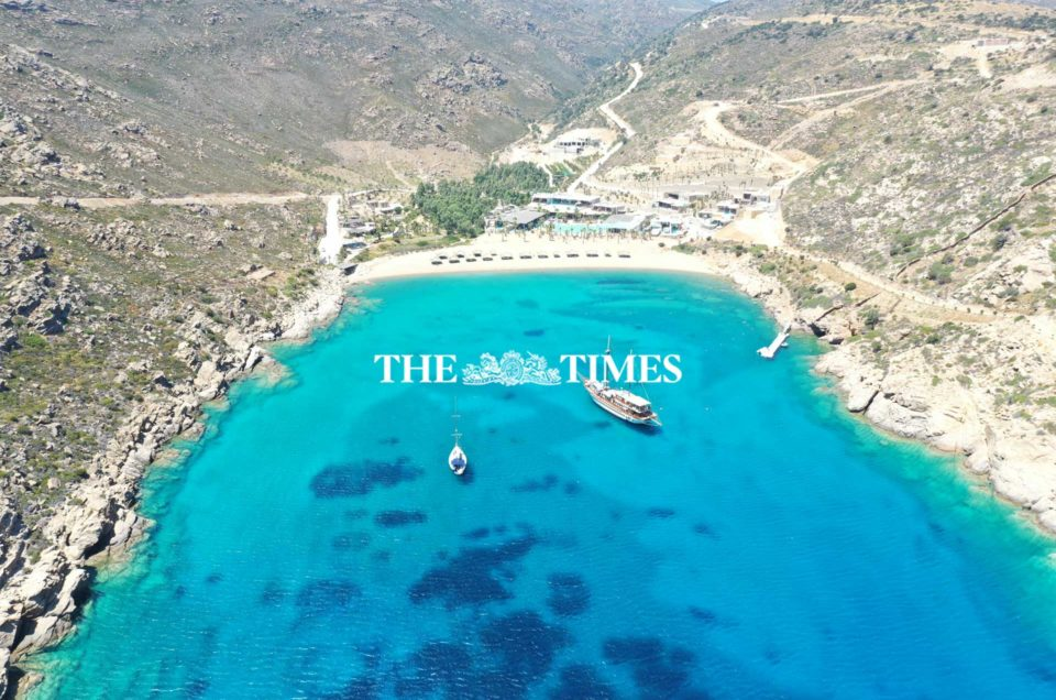 Article by The Times: Ios, the Greek island that's gone from party town to luxury resort